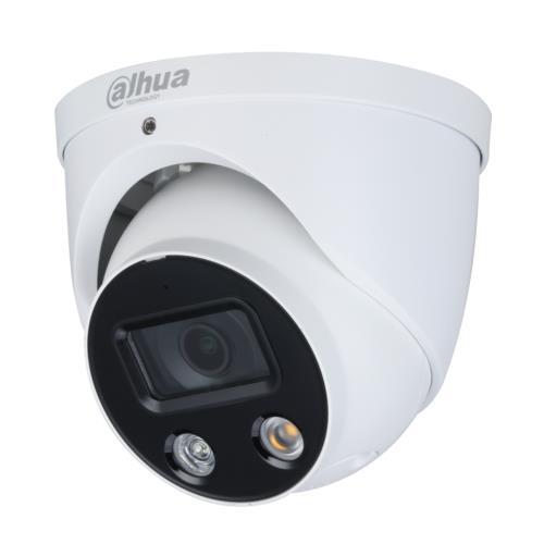 Dahua IPC-HDW3449H-AS-PV Caméra Turret IP Utilisation extérieur Résolution: 4MP Objectif: 2.8mm Wizsense Full-color TiOC