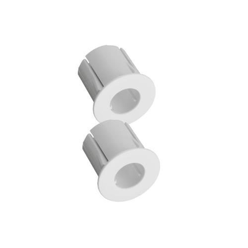Adaptateur Alarmtech pour encastrement dans le metal, blanc