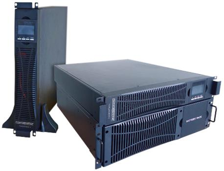 INTRUDER PSU 2kVA online Rack/Tower 2U