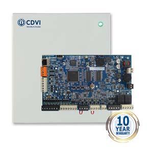 CDVI, Centrale Atrium Krypto, Système basée web, Desfire EV2, pour 2 portes/4 lecteurs