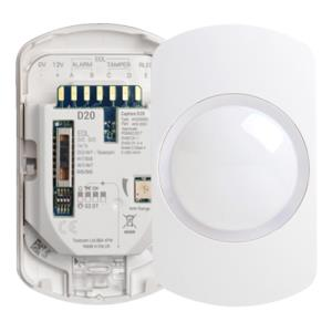 Texecom Capture Wired Wall Mount 20M Dual Tech Sensor