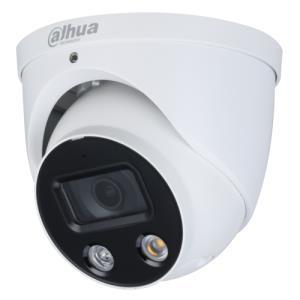 Dahua IPC-HDW3549H-AS-PV Caméra Turret IP Utilisation extérieur Résolution: 8MP / 4K Objectif: 2.8mm Wizsense Full-color TiOC