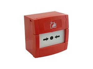 KAC MCP3A-R000SG-01 Handmatig oproeppunt - Rood - Glas
