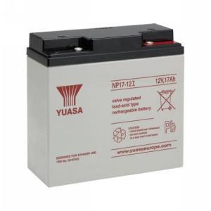 Yuasa NP17-12 Multifunctioneel Batterij - 17000 mAh - Loodzuur - 12 V DC - Oplaadbare batterij