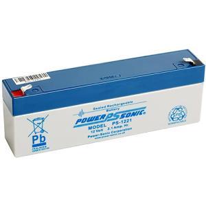 Power-Sonic PS1221VDS Batterij - 2100 mAh - Gesloten lood (SLA) - 12 V DC - Oplaadbare batterij