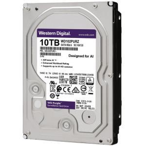 Western Digital 10TB WD102PURZ WD Purple Tot 64 Streams Interface SATA