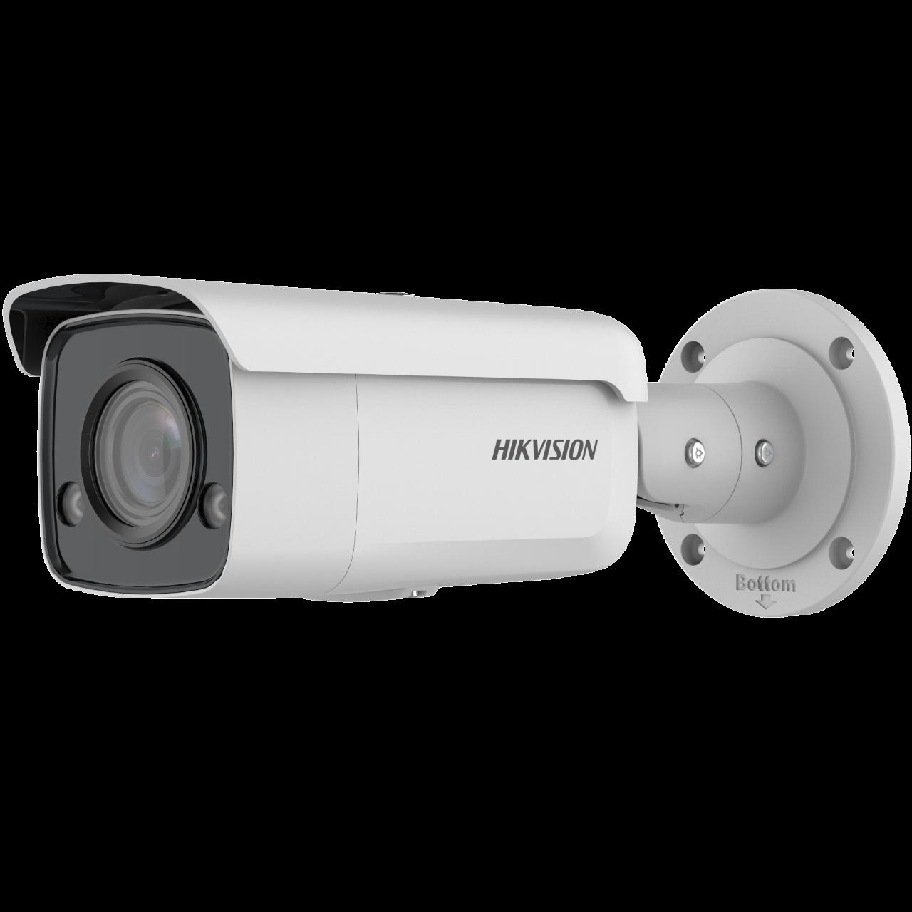 Easy IP4.0 - ColorVu <(>&<)> Acusense G2, Caméra Tube IP, Utilisation Extérieure, Résolution 8MP , Objectif 2.8mm HFOV 102°